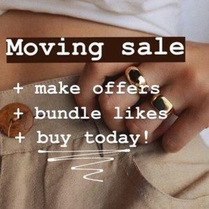Moving Sale! Reasonable Offers Accepted